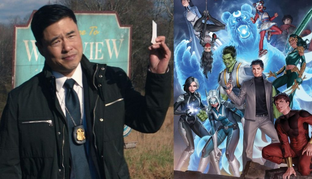 """Randall Park says starring in a Agents of Atlas series would be a """"dream come true"""""""