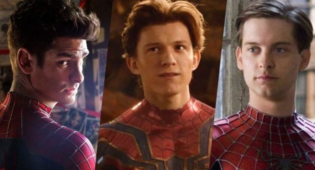 """Tom Holland now says Andrew Garfield & Tobey Maguire """"will not appear"""" in Spider-Man 3"""
