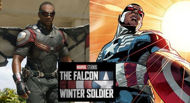 Sam Wilson's new Captain America costume for Falcon and the Winter Soldier revealed in a toy leak (Spoilers)