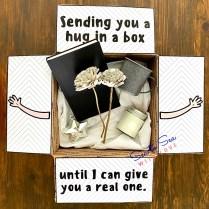 Sending you a hug in a box...