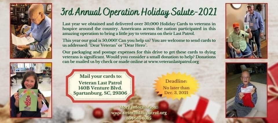 Operation Holiday Salute