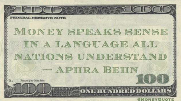 Aphra Behn Quote