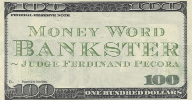 Bankster Quote