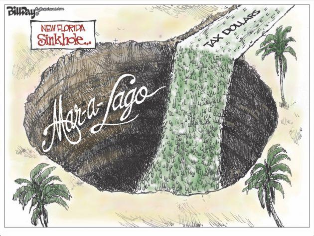 Mar-a-Lago Bill Day CagleCartoons
