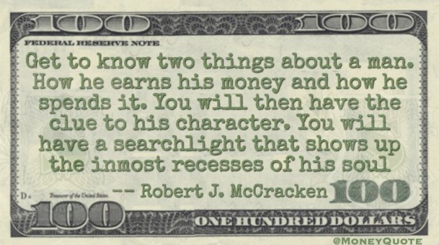 Robert J. McCracken Quote