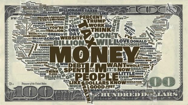 Trump Money Wordcloud