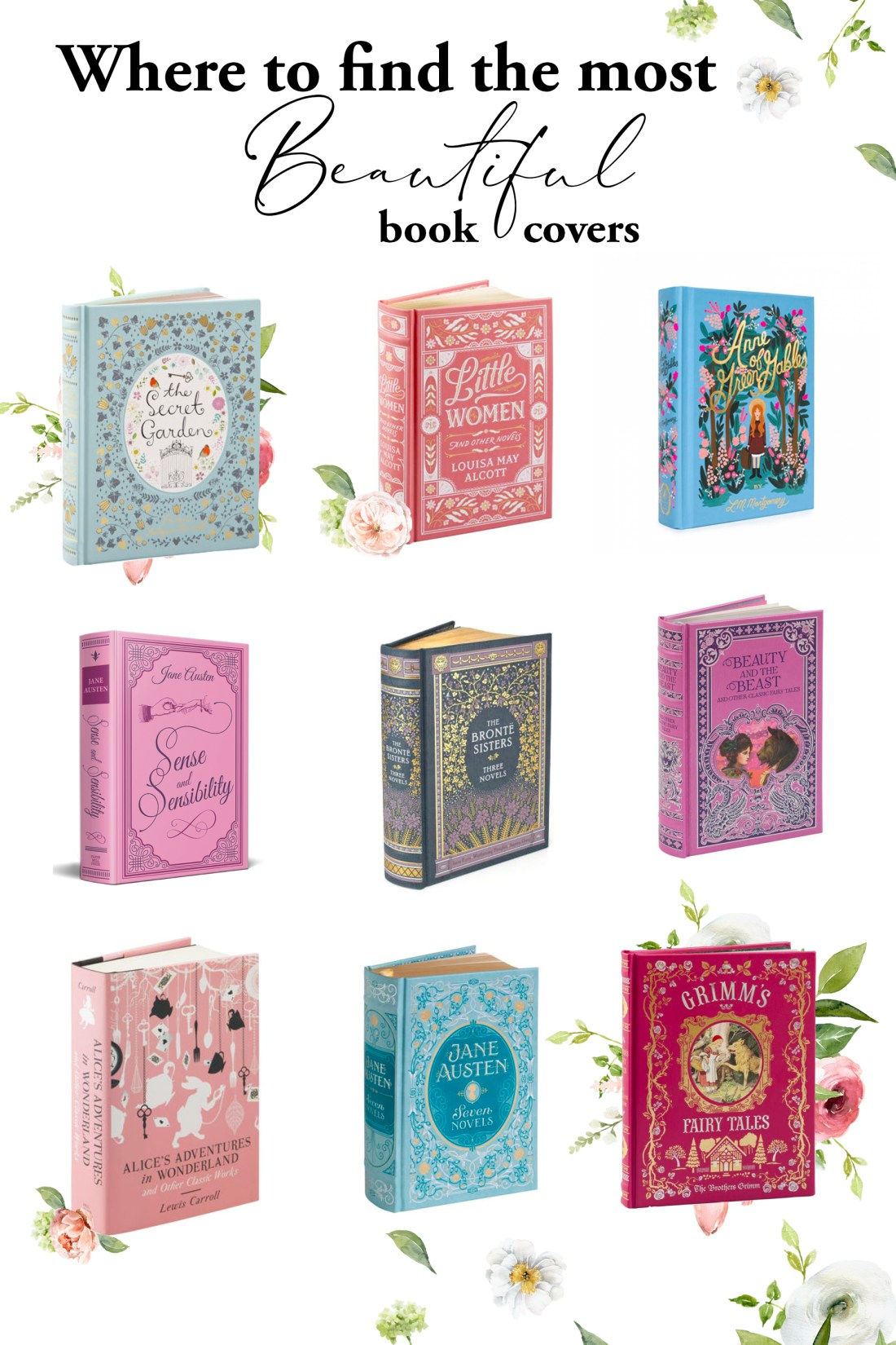 Where to Find Beautiful Book Covers   An Enchanted Life