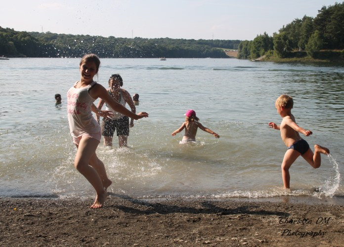 Journée au lac de l'eau d'heure
