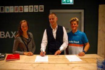 Merel (links), Martijn (midden) en Scipio (rechts)