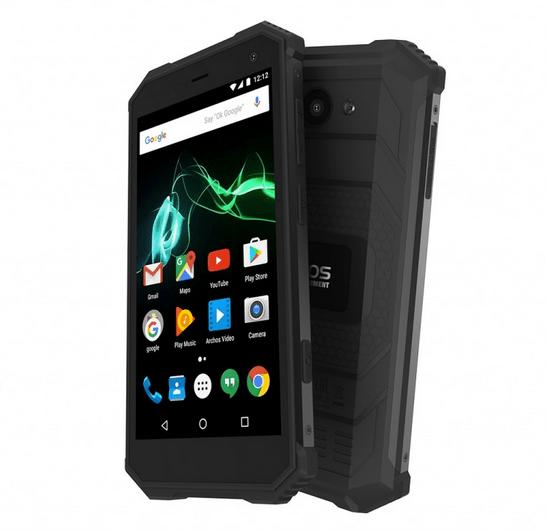 Nieuwe outdoor smartphone: ARCHOS Saphir 50X