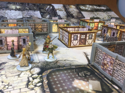 Zombicide Black Plague 3d Scenery It S Art In Part