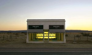 The Prada Marfa, near Valentine, Texas.