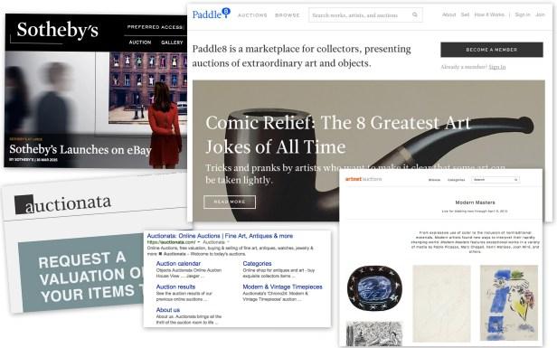 Online Auctions Apr 1