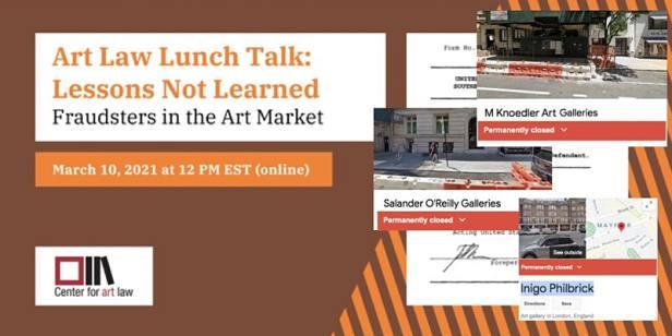 fraud, art fraud, art law, event