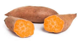 Sweet Potatoes - These are packed with beta-carotene, which your body converts to vitamin A, a nourishing agent for your hair and skin. Vitamin A protects against dull hair and dry skin, a leading cause of dandruff. Other smart choices to get glowing hair and skin include carrots, kale, butternut squash, asparagus, and pumpkin.