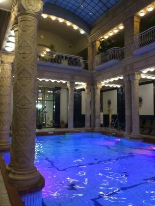 Gellert Thermal Baths of Budapest, Hungary