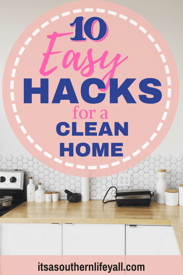 Neat and tidy kitchen with 10 easy hacks for a clean home -Stop Using Alt Tags for Pinterest Pin Descriptions