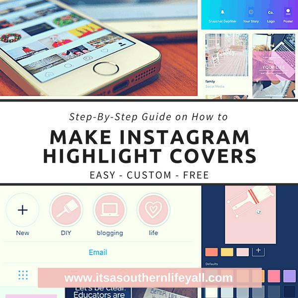 Make Instagram Highlight Covers