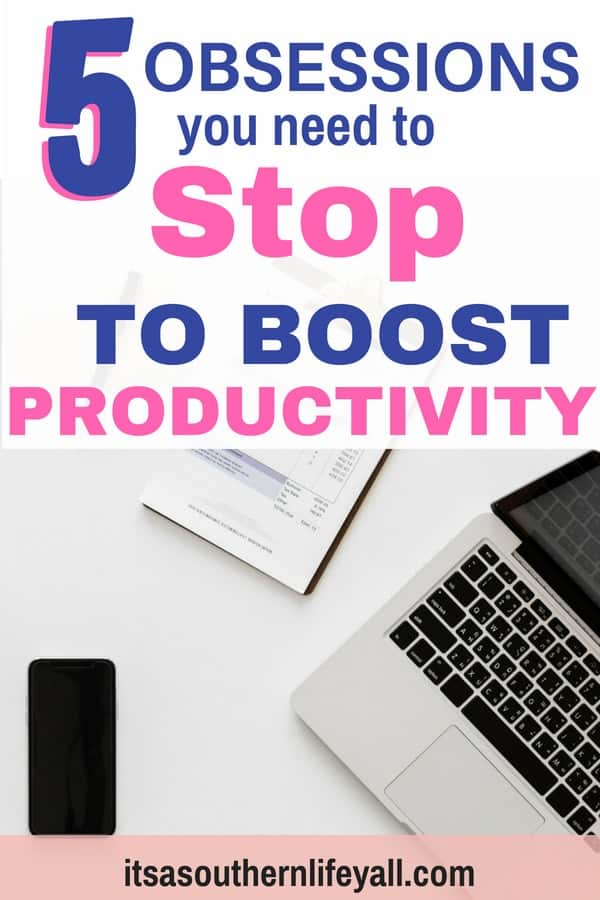 5 obsessions you need to stop to boost productivity - Stop Using Alt Tags for Pinterest Pin Descriptions
