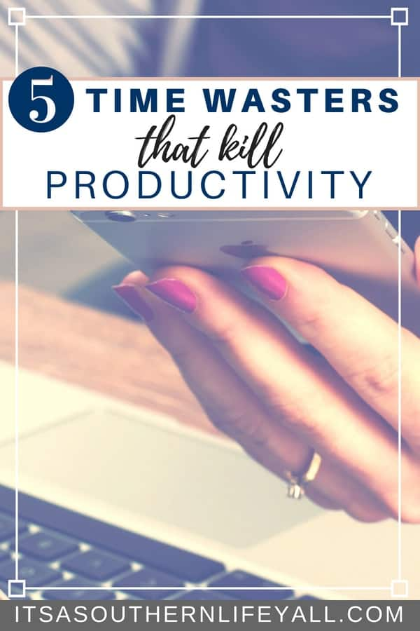 Avoid these time wasters to be more productive daily. We all have bad habits that take us away from our daily tasks and time management. Follow these tips to break these bad habits and become more productive and get more done in a shorter amount of time.