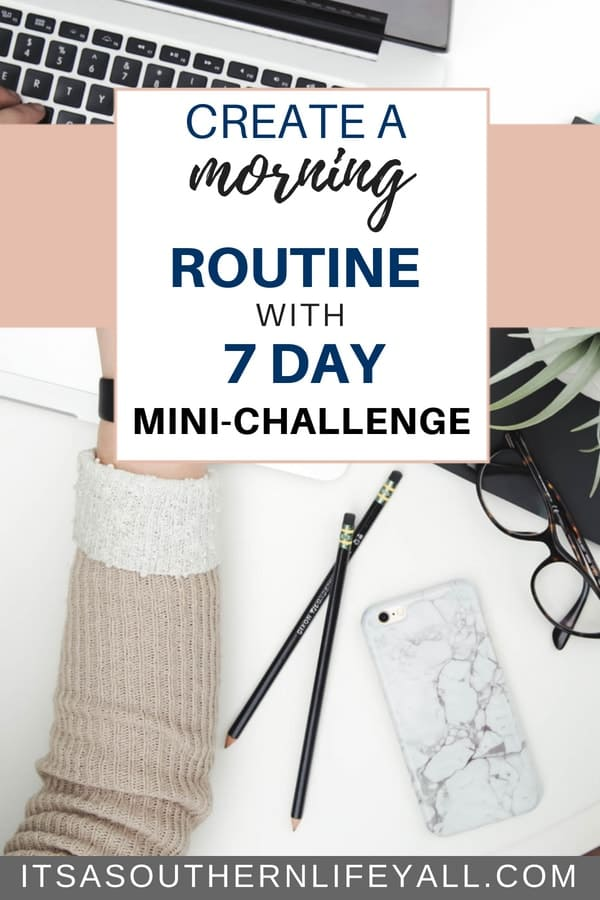 How to create a morning routine and stick to it using these productivity steps. Time management tips to kickstart your daily routine and a mini-challenge to give even more information.
