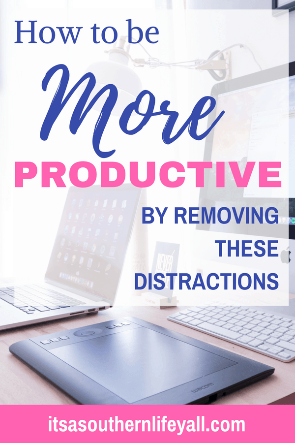 How to be more productive text overlay - Stop Using Alt Tags for Pinterest Pin Descriptions