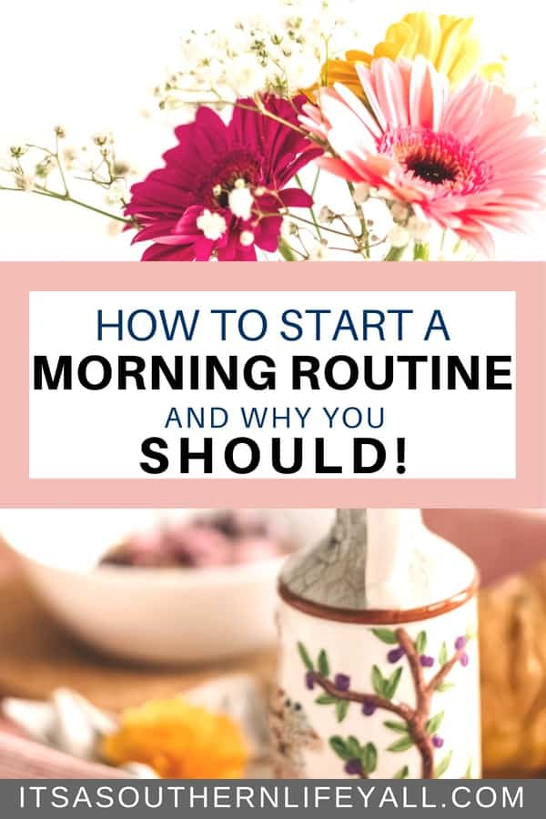 How and why you should start a morning routine to amp up your time management skills and productivity daily. Your entire day is determine by your morning routine. Time management tips to help you create a routine for a great and productive day.