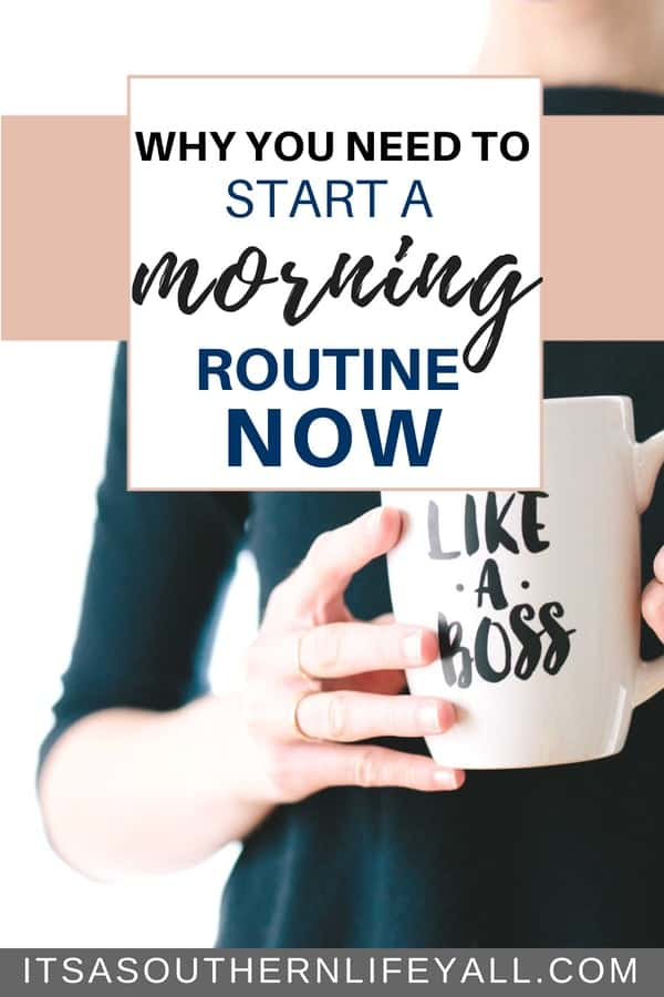 Why you need to start a morning routine now-min