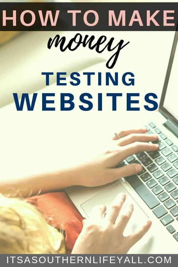 how to make money testing websites