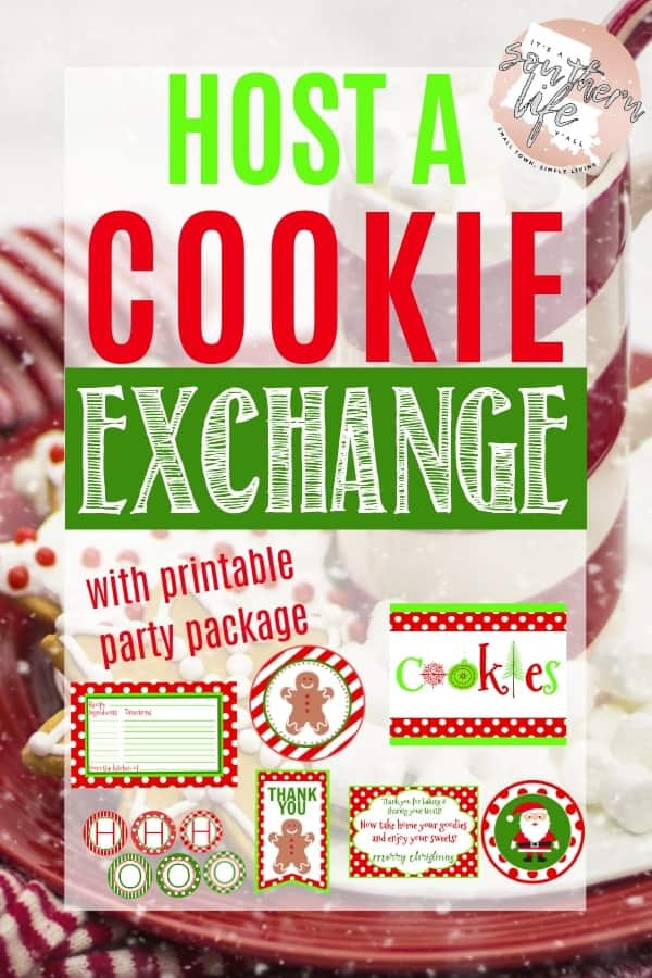 Host a Cookie Exchange or Cookie Swap Party with ease following these steps. Perfect party planning with printable download package available.