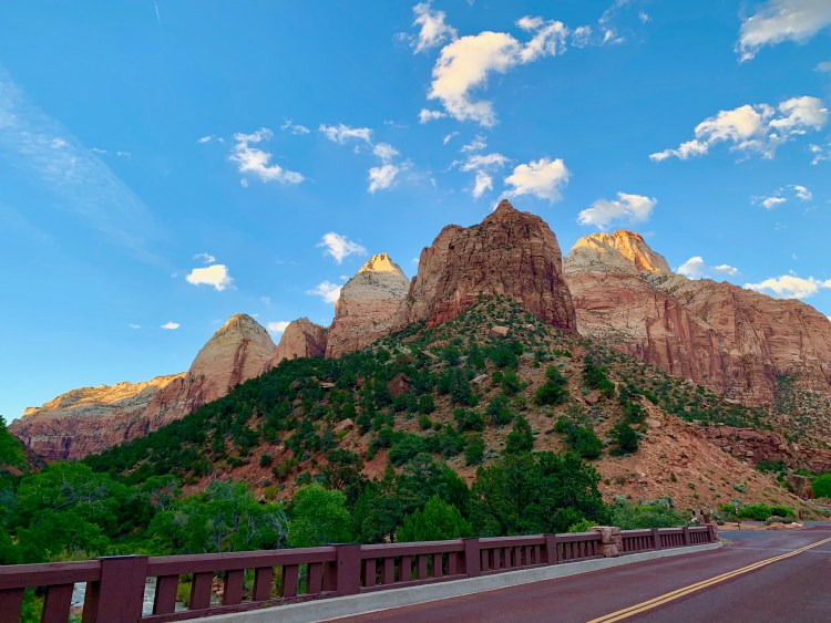 Zion national park, virgin river, landscape, sandstone cliffs, Utah National Parks, beautiful nature, Angel's Landing Summit, adventure hike, beautiful view, Pa'rus Trail, The Watchman, Junction Canyon, Sunset