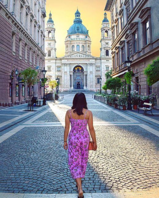 budapest hungary europe buda castle st stephen basilica