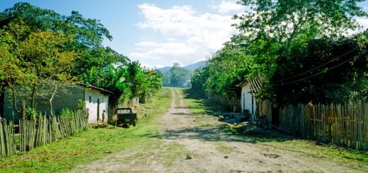 Honduras Dirt Road
