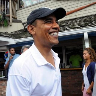 President Obama at Martha's Vineyard