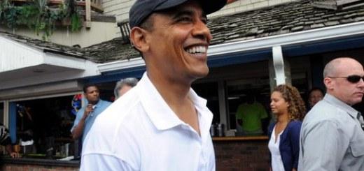 President Obama at Martha's Vineyard