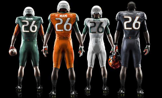 separation shoes 70b84 caf0f Miami Hurricanes New Football Jerseys In 2014 – ItsAUThing ...