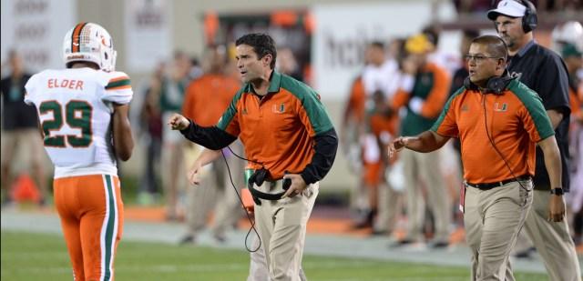 miami hurricanes football the u corn elder virginia tech hokies manny diaz defensive coordinator