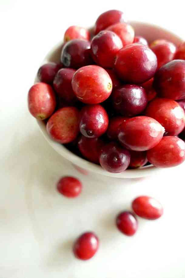 Vegan gluten-free wild rice and mushroom pilaf with cranberries