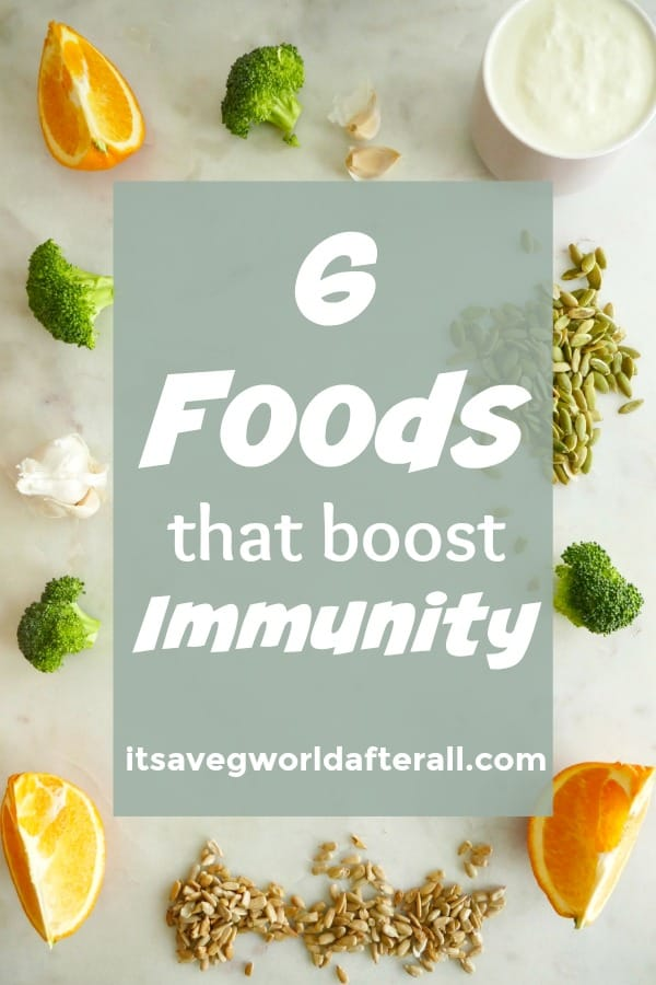 Foods that boost immunity