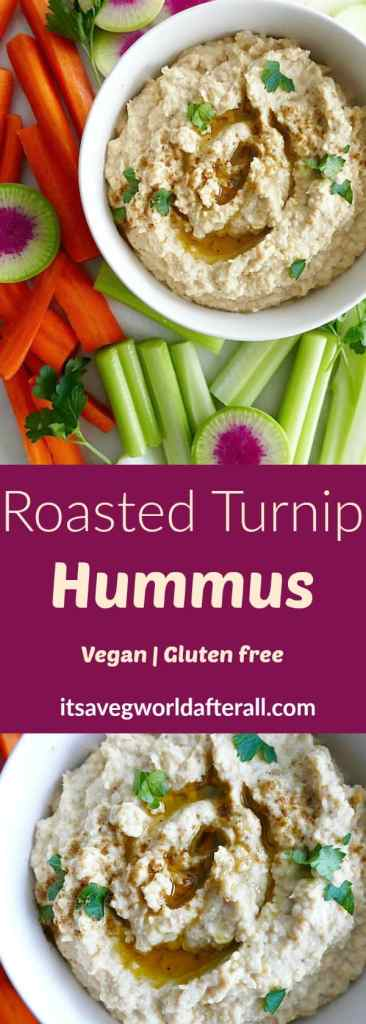 Roasted Turnip Hummus