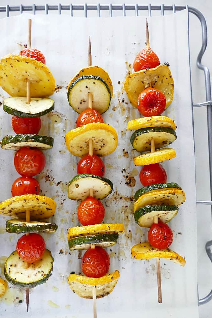 Zucchini Kabobs