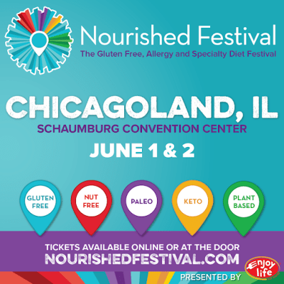 The 2019 Nourished Festival (f.k.a GFAF Expo) Is Coming to ChiTown!