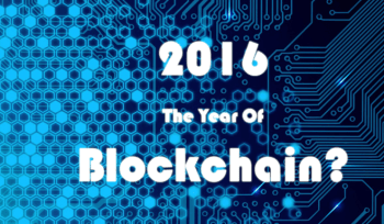 blockchain in 2016
