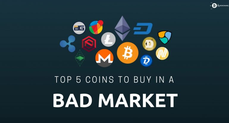 Top 5 coins you should buy in this bad market | ItsBlockchain