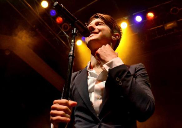 Ryan Follese of Hot Chelle Rae at the 9:30 Club in 2012