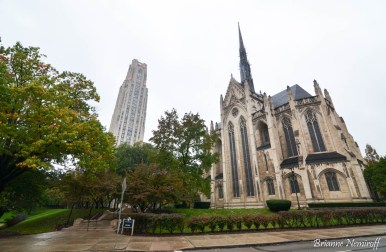 Cathedral of Learning and Heinz Memorial Chapel
