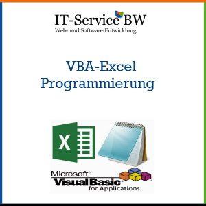 """Wir entwickeln mit Ihnen oder für Sie """"schlüsselfertige"""" VBA Excel Lösungen, die das Potenzial des Office-Pakets voll nutzen. Insbesondere können wir somit die einzelnen Office-Programme miteinander verbinden und optimal arbeiten lassen."""
