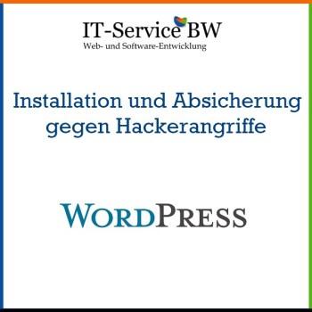 Bild zur Beschreibung des WordPress Installations-Service, das von IT-Service BW angeboten wird.