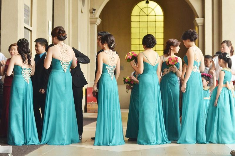Behind-The-Design: Teal & Gold Wedding