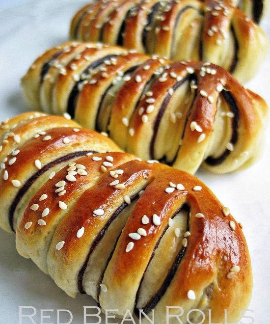 red bean buns 9